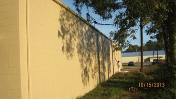 Before and After Exterior Commercial Painting by Curtis' Painting & Remodeling Inc.